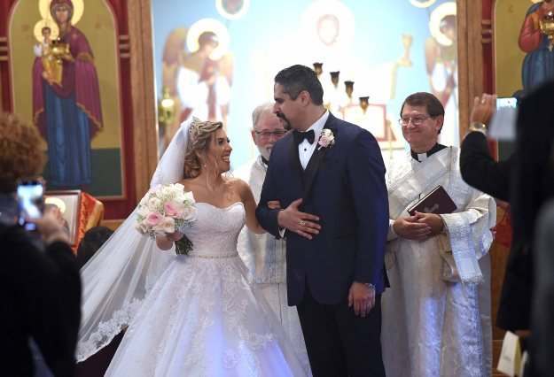 The wedding of Dr. Sam and Dana Dabit on Saturday, September 15, 2018.